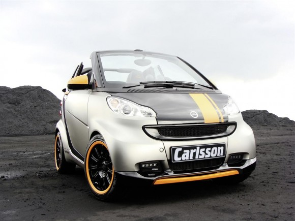 2011 Smart Carlsson fortwo Front 580x435 2011 Carlsson Smart Fortwo   Photos, Features, Price