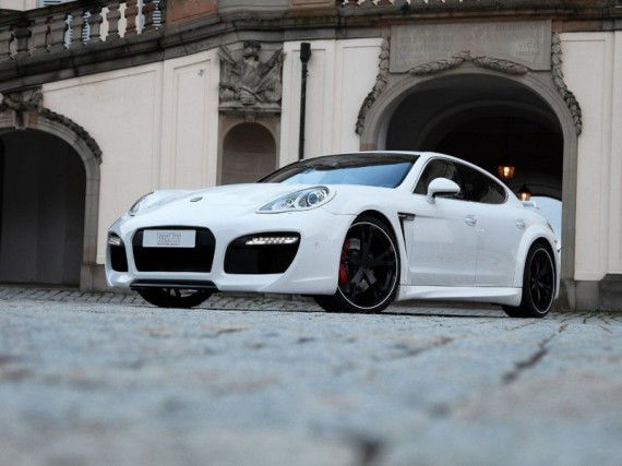 2011 Techart Porsche Panamera Grand GT from Front View Picture 570x427 2011 TechArt Porsche Panamera GrandGT  Photos, Price, Features