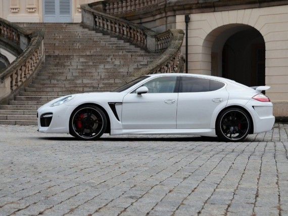 2011 Techart Porsche Panamera Grand GT from Side View Picture 570x427 2011 TechArt Porsche Panamera GrandGT  Photos, Price, Features