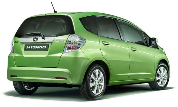 2011 honda fit hybrid rear 1 2011 Honda Fit Hybrid   Photos, Features, Price
