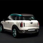 2011 mini crossover rear angle view 150x150 2011 Mini Cooper Countryman   Features, Photos, Price