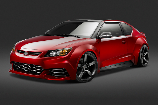 2011 scion tc custom build by five axis 0 2011 Scion TC by Five Axis   Photos, Features, Price