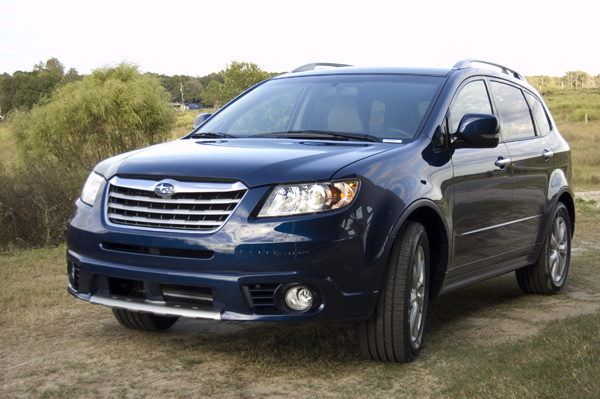 2011 subaru tribeca front off road 2011 Subaru Tribeca   Photos, Features, Price