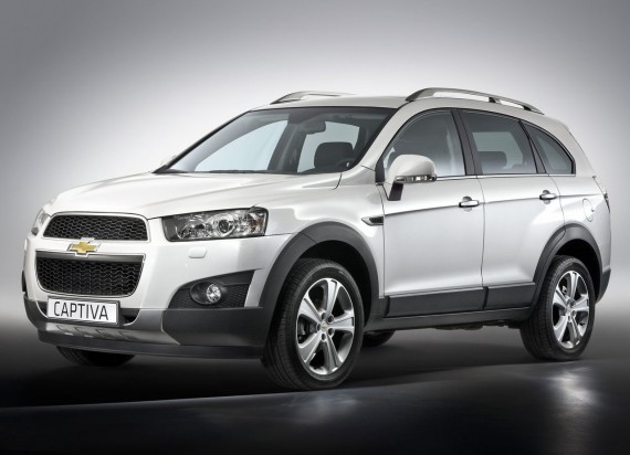 2012 Chevrolet Captiva from Front View Picture 570x412 2012 Chevrolet Captiva   Photos, Features, Price