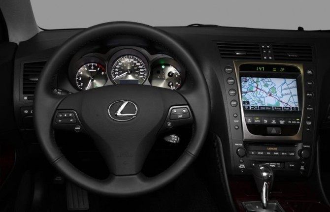 Lexus GS 350 2011 Dashboard View 670x431 2011 Lexus GS350   Features, Photos, Price