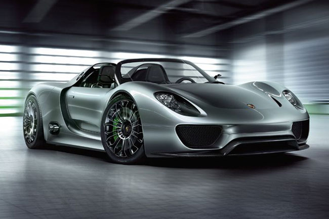 Porsche 918 Spyder 8 2011 Porsche 918 Spyder Concept   Photos, Features