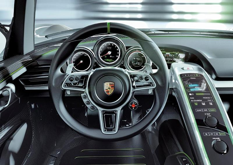 p10 0249 w800 2011 Porsche 918 Spyder Concept   Photos, Features