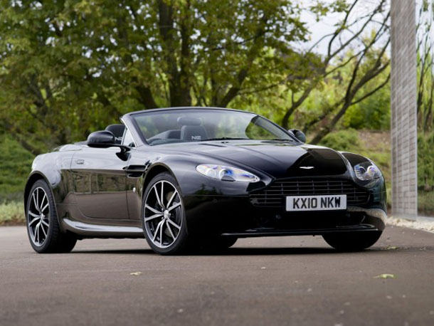 2011 Aston Martin V8 Vantage N420 Roadster Front Side View 2011 Aston Martin V8 Vantage N420 Roadster   Photos, Features, Price
