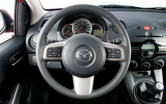 2011 Mazda2 Yozora from Dashboard View Picture 570x356 2011 Mazda 2 Yozora Limited Edition   Photos, Features, Price
