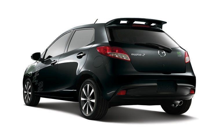 2011 Mazda2 Yozora from Rear View Picture 2011 Mazda 2 Yozora Limited Edition   Photos, Features, Price