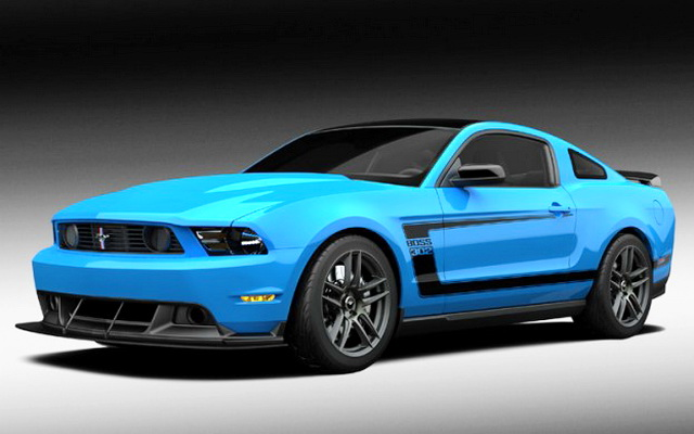 2012 Grabber Blue Boss 302 Laguna Seca Picture 2012 Ford Mustang Grabber Blue Boss 302 Laguna Seca   Photos, Features, Price