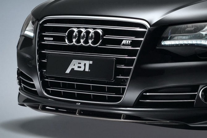 Audi A8 4.2 TDI 2011 Partial FrontView 670x446 2011 Audi A8 4.2L TDI by ABT   Photos, Features