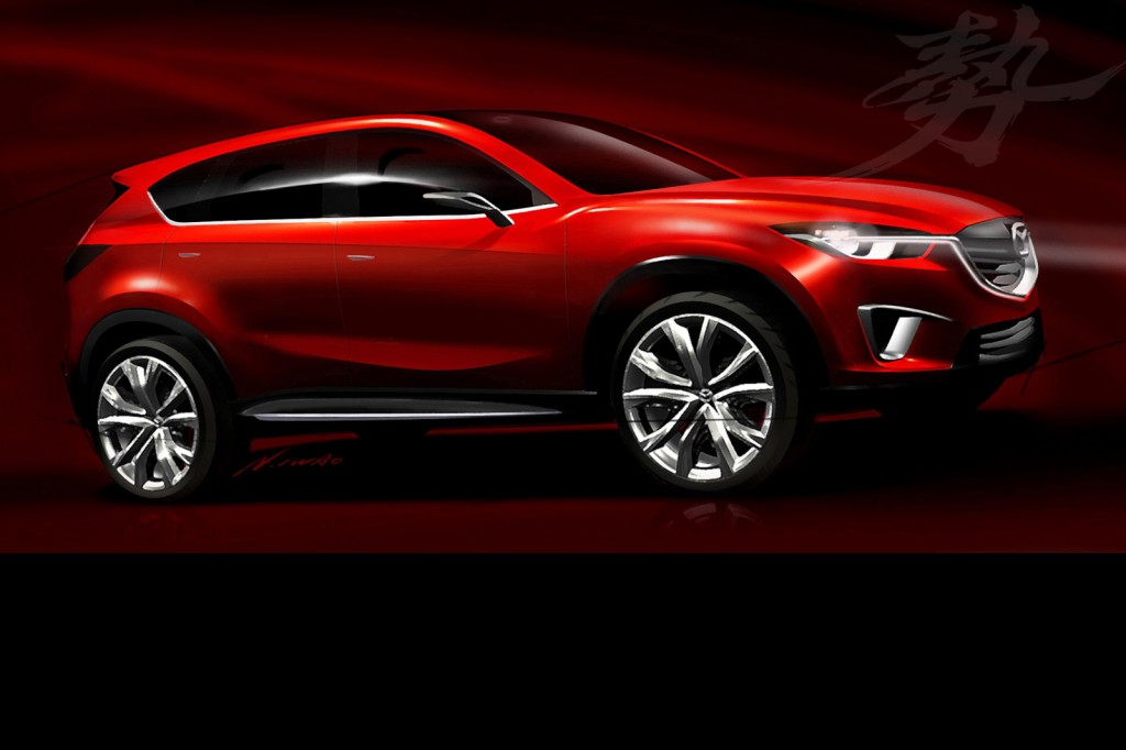 Mazda Minagi 1024x682 Mazda Minagi Compact SUV Concept &  Offical Photos Released