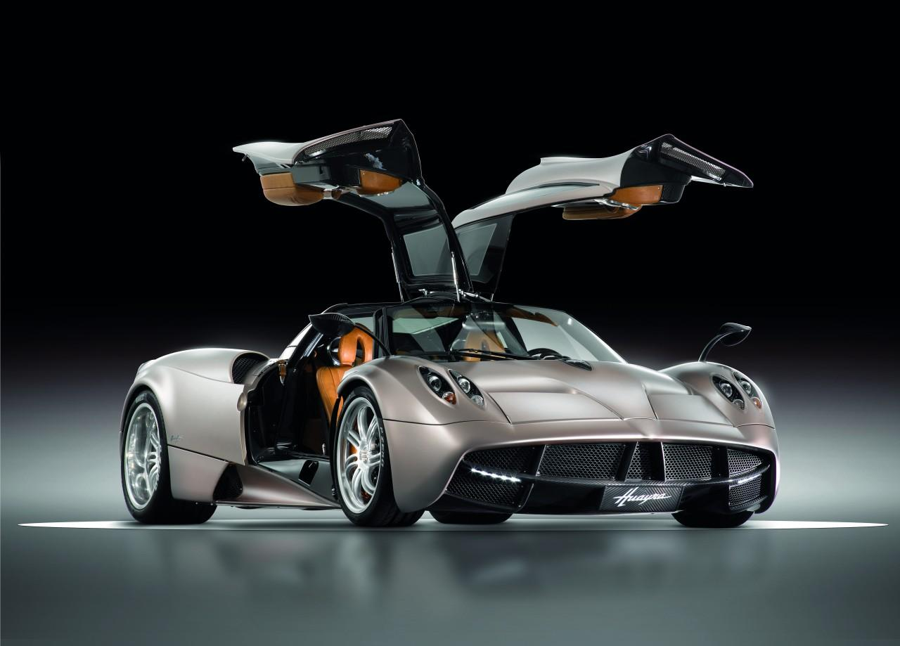 Pagani Huayra offical images 20 Pagani Huayra, the car of dreams, revealed in the real world