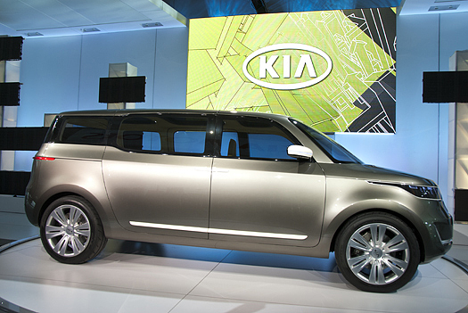 kia kv7 concept 6 2011 Kia KV7 Concept   Features, Photos