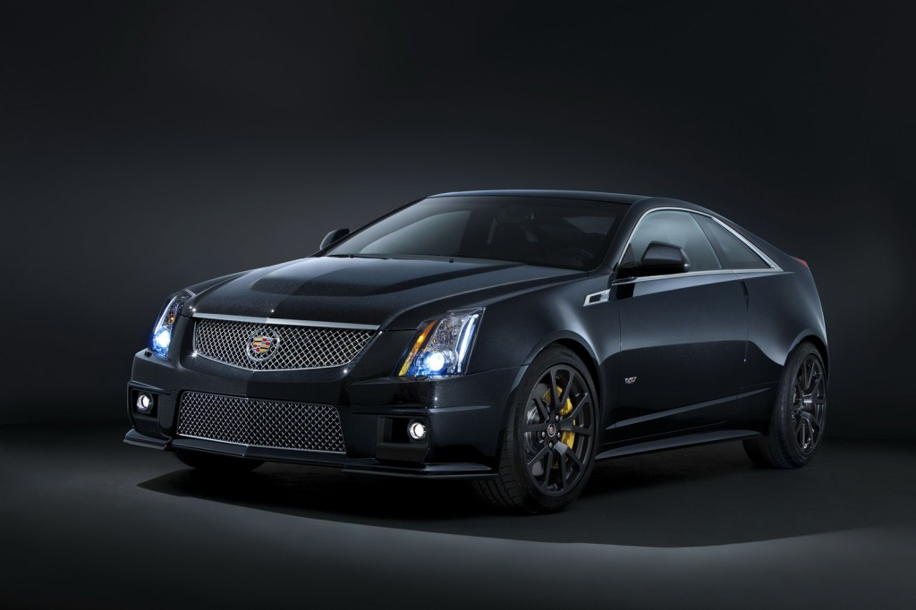 2011 Cadillac CTS V Coupe Black Diamond 5 1024x682 Cadillac CTS V Range Introduces the New Edition, Black Diamond