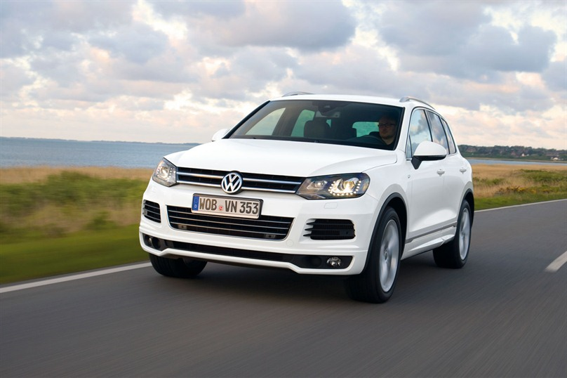 2011 VW Touareg R Line 3 Volkswagen Touareg R Line with Aero dynamic Shape for Car Lovers