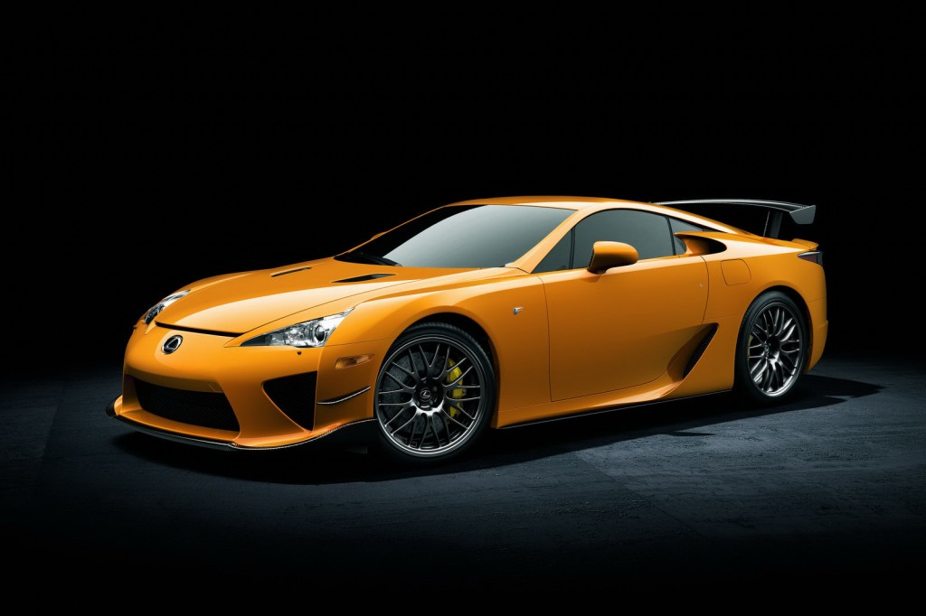 2012 Lexus LFA Nurburgring Edition 1024x682 New to This Universe   Lexus LFA Nürburgring
