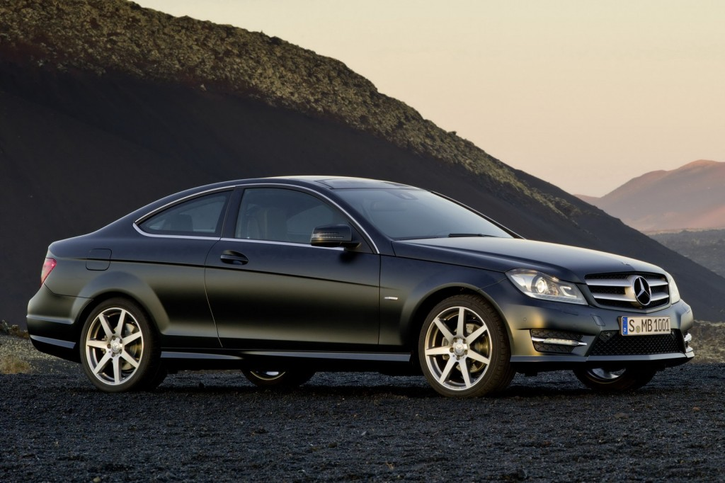 2012 Mercedes Benz C Class Coupe 37 1024x682 2012 Mercedes Benz C Class Coupe Will Be Presented at Geneva Motor Show