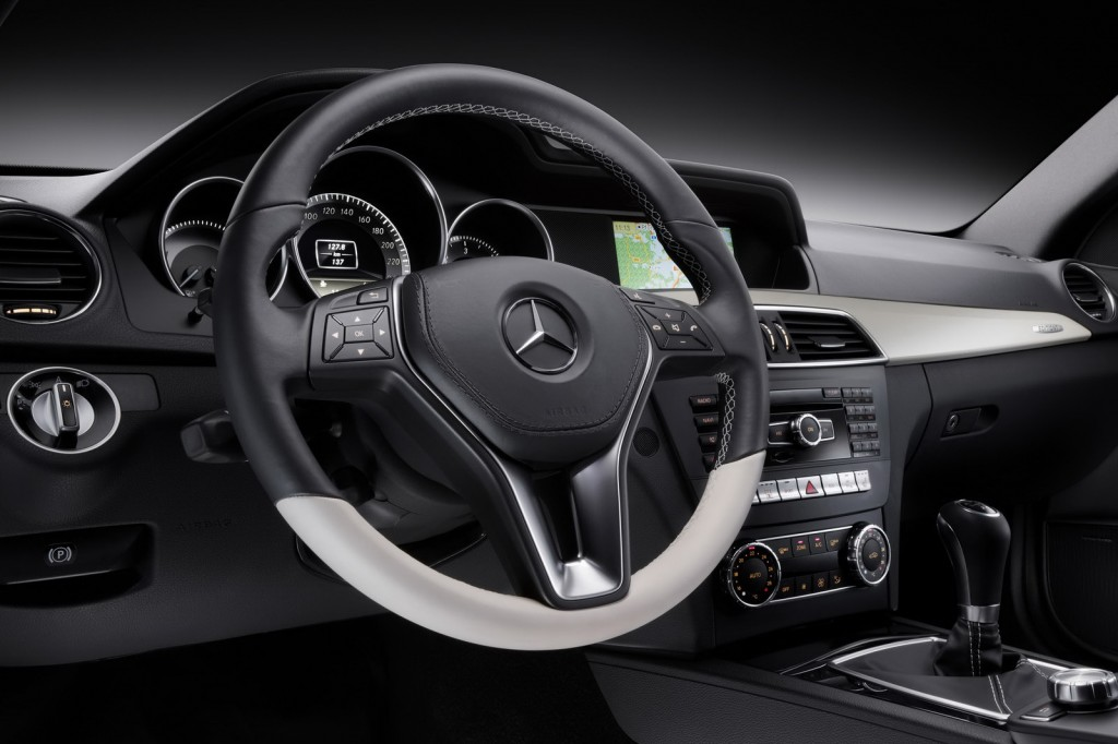 2012 Mercedes Benz C Class Coupe 44 1024x682 2012 Mercedes Benz C Class Coupe Will Be Presented at Geneva Motor Show