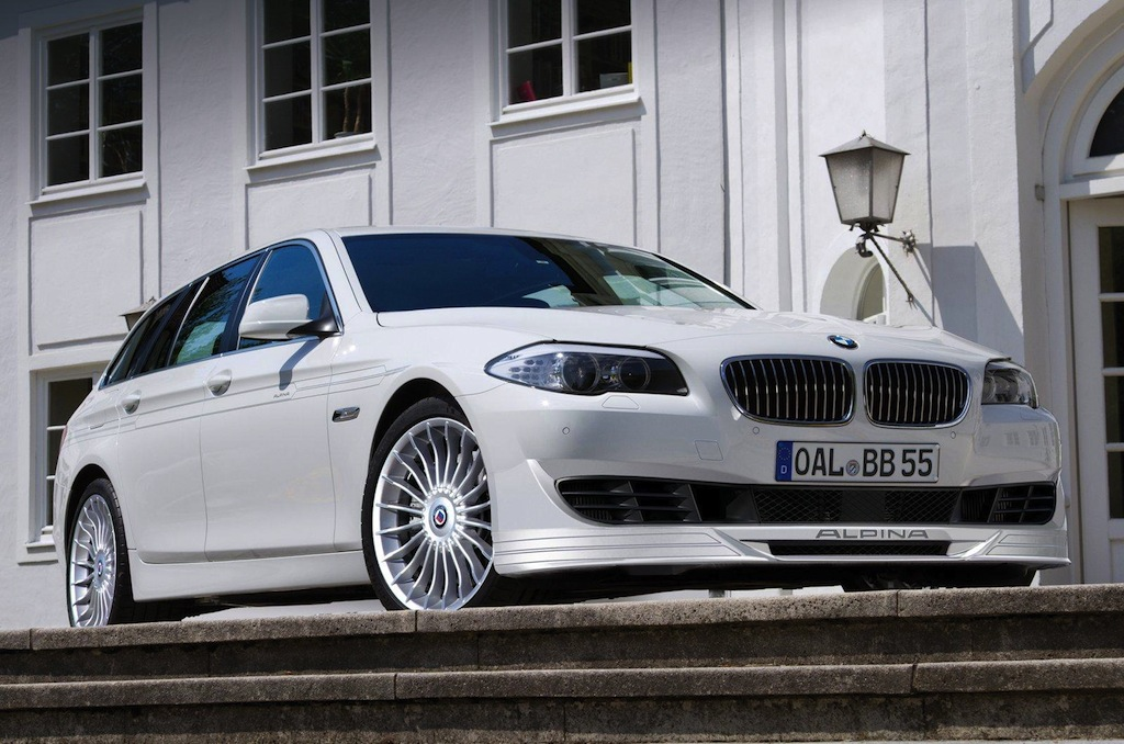 Alpina b5 biturbo touring 1 Alpina B5 Bi Turbo Touring Vehicle with Excellent Features