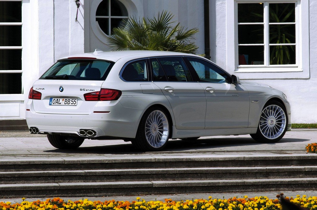 Alpina b5 biturbo touring 3 Alpina B5 Bi Turbo Touring Vehicle with Excellent Features