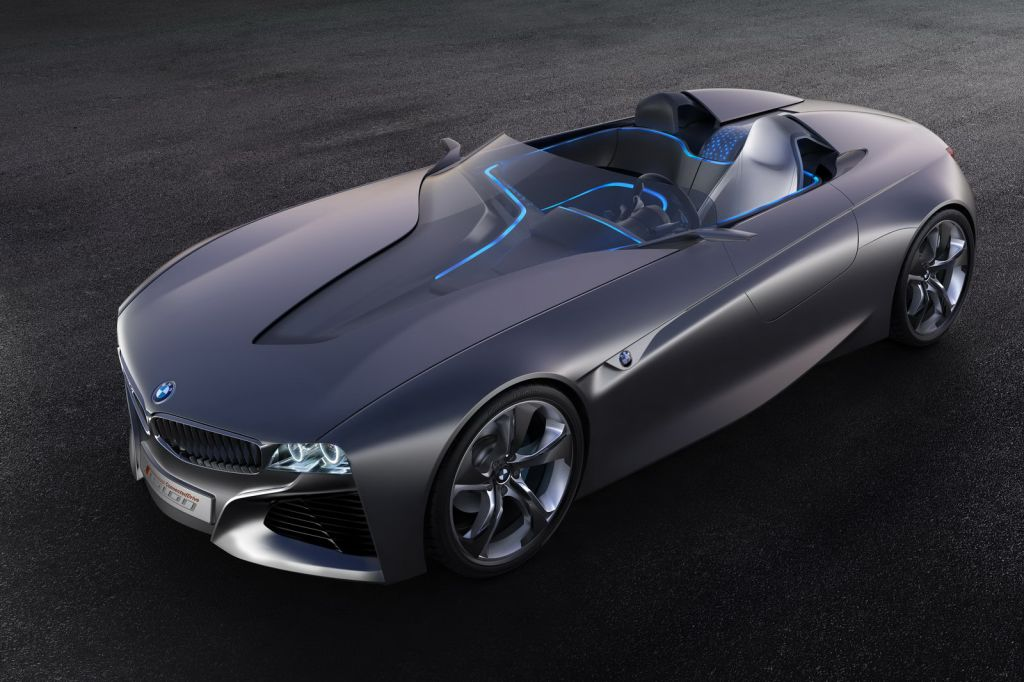 BMW Concept Roadster Shark 18 BMWs Geneva Show Vision Connected Drive Roadster Concept Is Redesigned with Shark Nose Grille