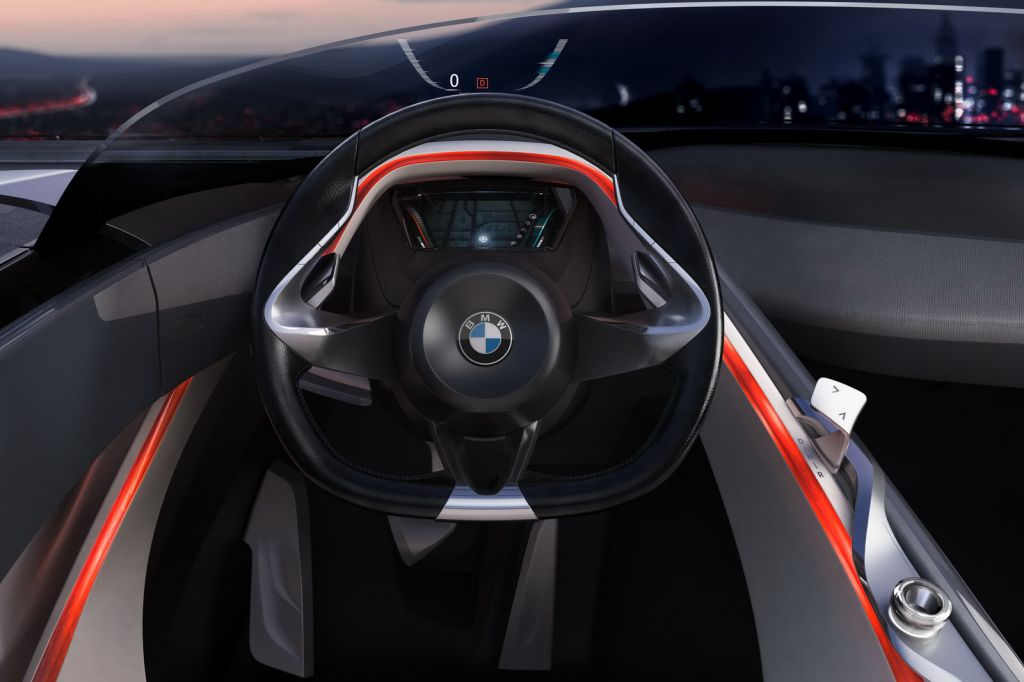 BMW Concept Roadster Shark 9 BMWs Geneva Show Vision Connected Drive Roadster Concept Is Redesigned with Shark Nose Grille