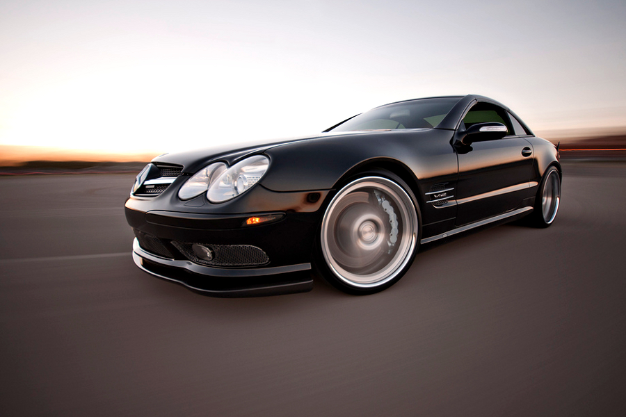 CNG Mercedes Benz SL 600 Edition 5 CNG Powered Mercedes Benz SL 600 Edition