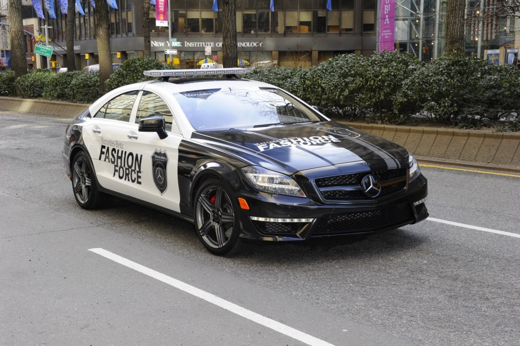Fashion Force 6 1024x682 2012 Mercedes CLS 63 AMG Fashion Police Car Will Capture the Imagination of US Market