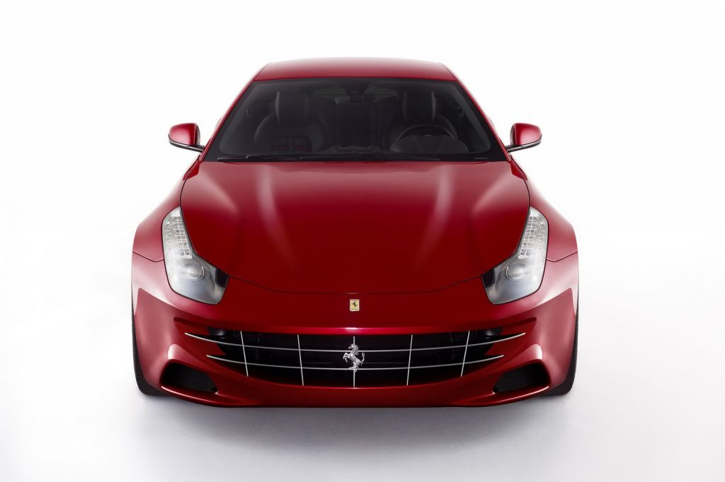 Ferrari FF Four Seat GT 4 The new photos of Ferrari FF Four Seat GT released