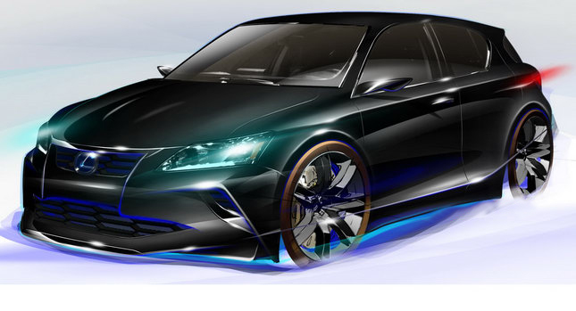 FiveAxis Project CT 200h 01 Chicago Preshow: Lexus CT 200h Concept Tune Car Will Draw Public Attention