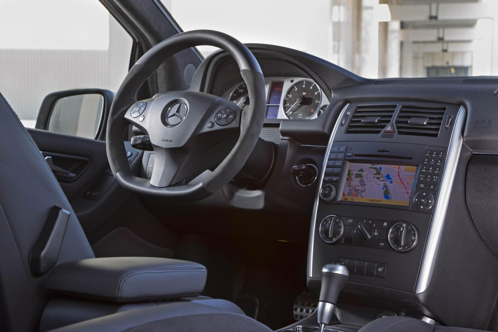 Mercedes B55 6 1024x682 The Mercedes Benz B 55 with All New Features