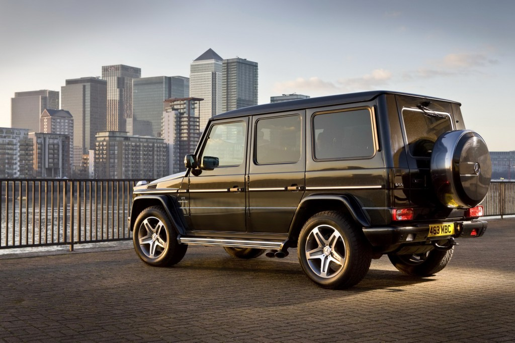 Mercedes Benz G Class 17 1024x682 Eco friendly Mercedes Benz G Class Edition Will Be Launched in India
