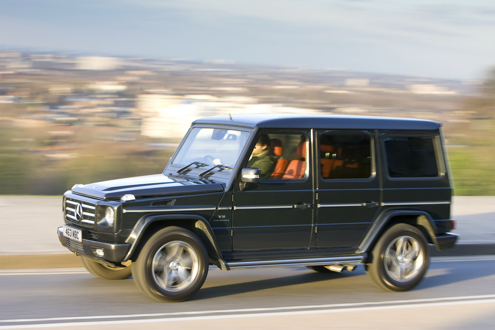Eco friendly mercedes benz g class edition will be for Mercedes benz g class pictures