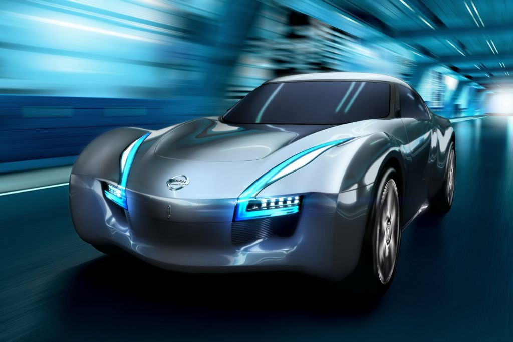 Nissan ESFLOW EV Coupe Nissan Esflow – Battery Powered RWD Sports Coupe Concept Car