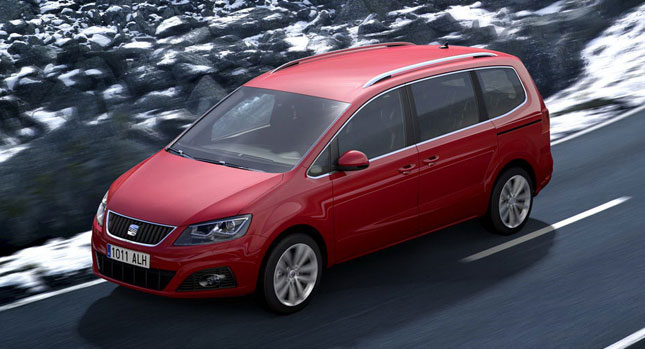 Seat Alhambra 4dw SEAT Alhambra Minivan equipped with 4WD Option