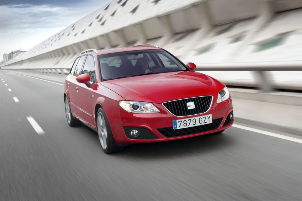 Seat Exeo Multitronic 13 1024x682 Multitronic CVT Transmission along with 143 HP 2 Litter Diesel Engine in Seat Exeo