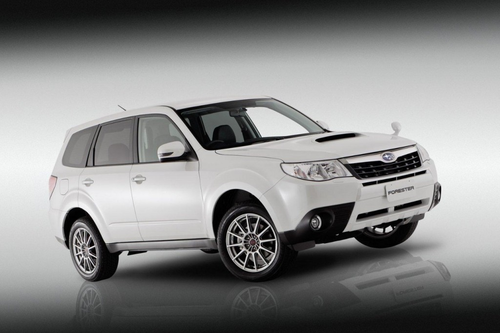 Subaru Forester S Edition 1024x682 Subaru Launches S Edition of WRX Powered Forester for Australia