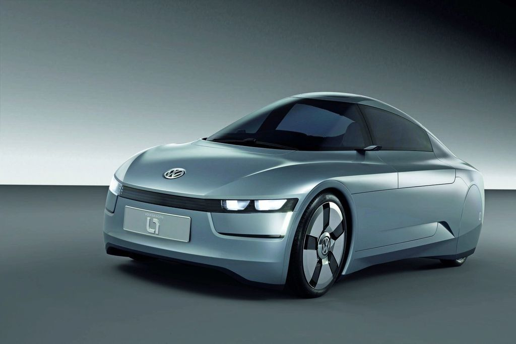 Volkswagen New 1L concept car 5 Volkswagen IL Concept Car with Unique Features