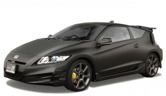 honda cr z ts 1x 570x331 The Tokyo Auto Salon will witness the unveiling of Honda CR Z TS 1X Concept