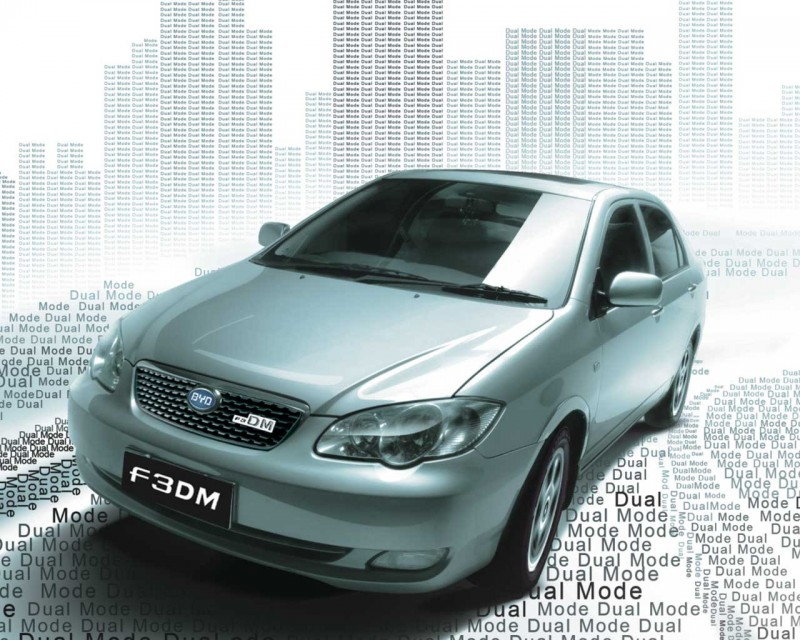 2009 BYD F3DM 4 BYD F3DM  Electric Powered Hybrid Car