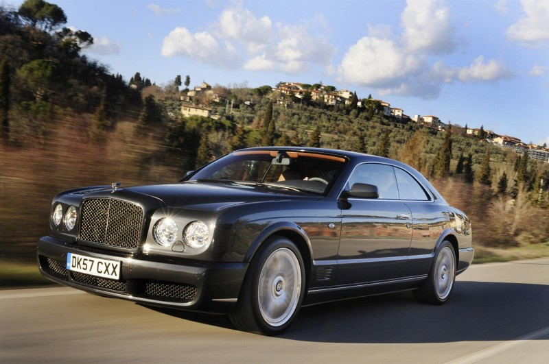 2010 Bentley Brooklands 2011 Bentley Brooklands with Aerodynamic Feature