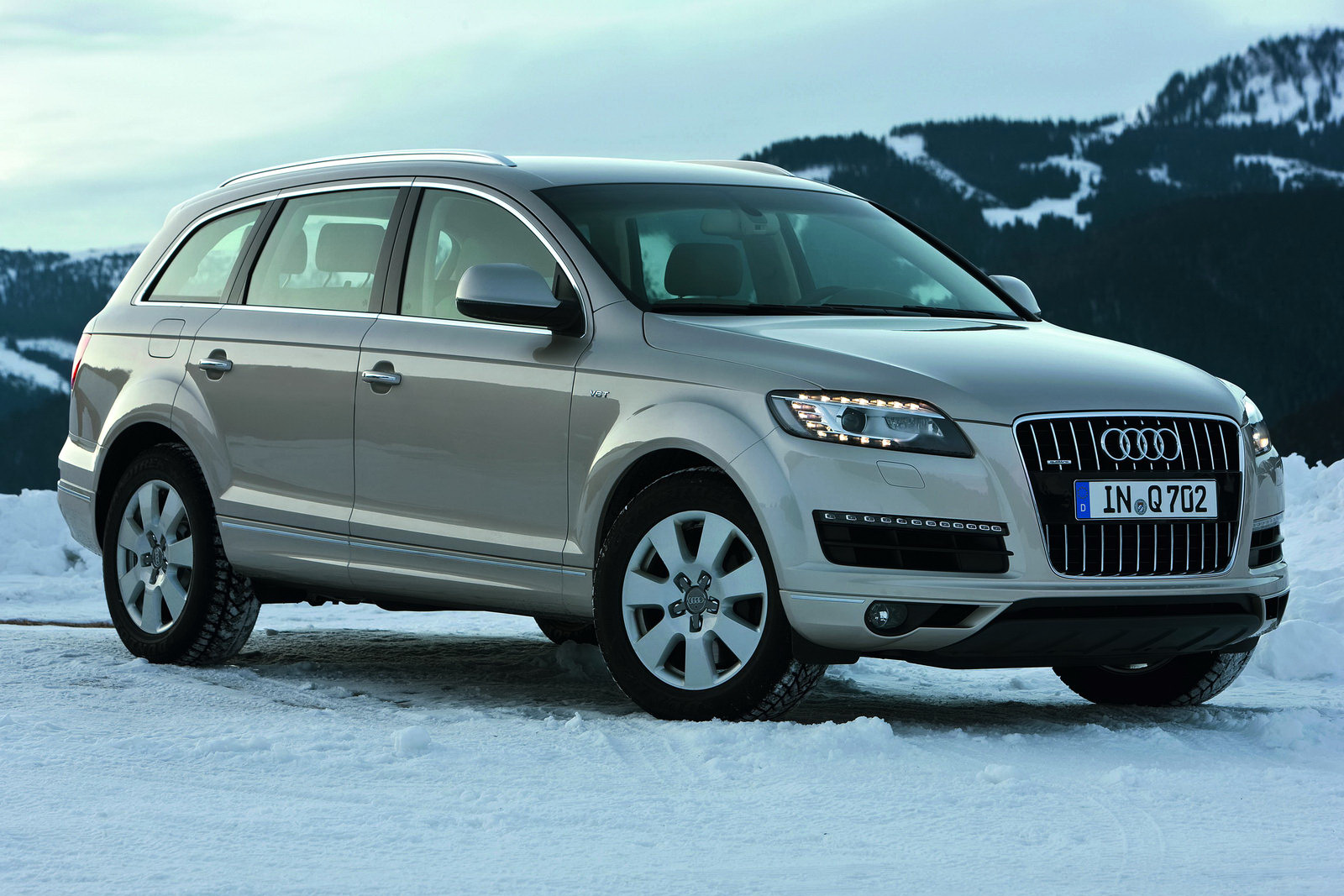 2011 Audi Q7 SUV 2011 Audi Q7 SUV Installed With NewV6 Engines, 8 Speed Transmission and Supercharged TFSI