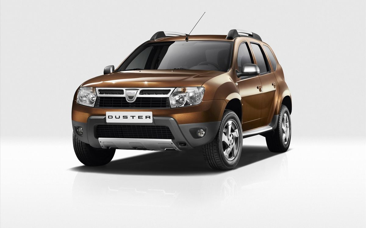2011 Dacia Duster 1 Renault Duster with Aggressive Design