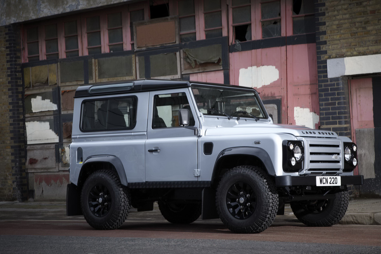 2011 Defender X Tech 4 Land Rover Releases the Limited Edition 2011 Defender X Tech
