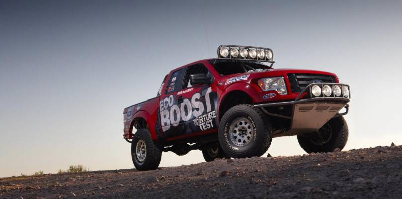 2011 Ford F 150 Desert Racer 1 The Tough Ford 2011 F 150 Desert Racer