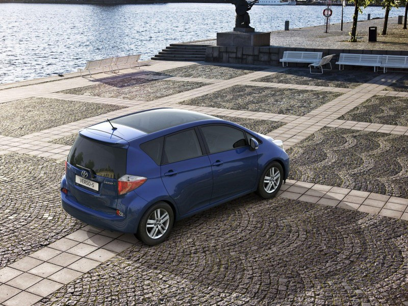 2011 Toyota Verso S 7 The 2011 Toyota Verso S Energy Efficient