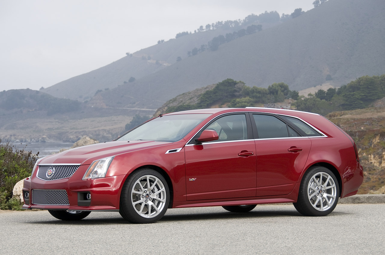 The Exciting Cadillac 2011 Cts V Wagon Machinespider Com