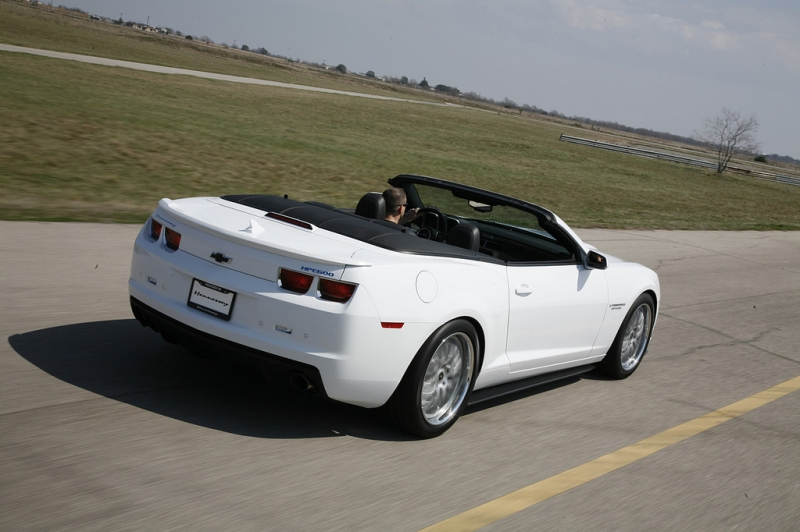 The Incredible 2011 HPE600 Supercharged Camaro Convertible